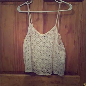 American Eagle Lacy Tank Top